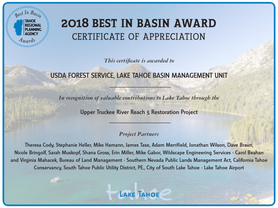 23 - 2018 Best in Basin Award