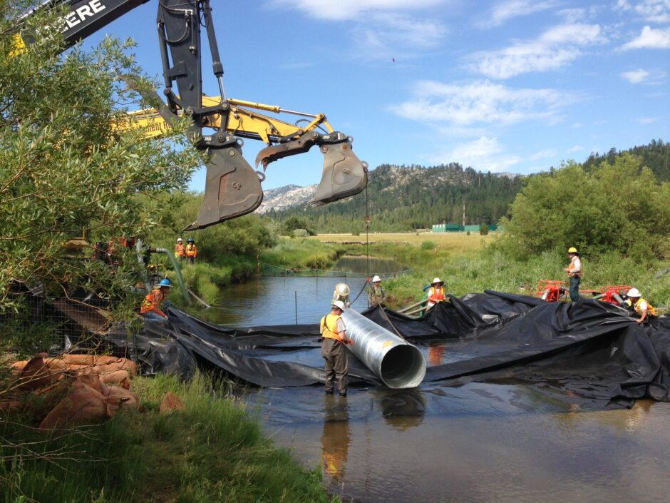 5 - Installing Temporary River Crossing 2014