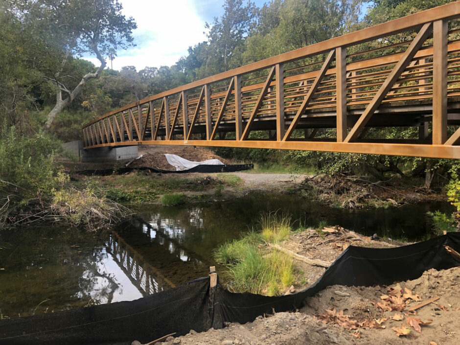 6 - New Bridge over Arroyo Del Valle